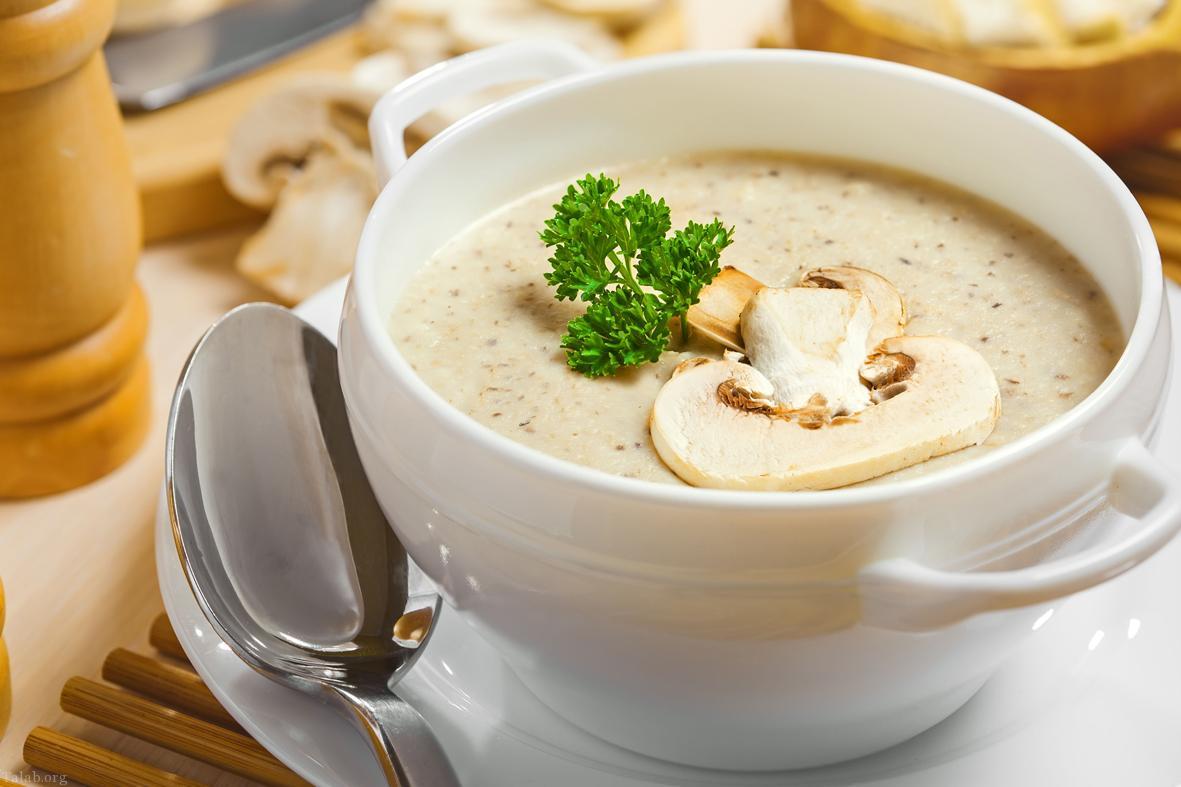 سوپ قارچ و ذرت
