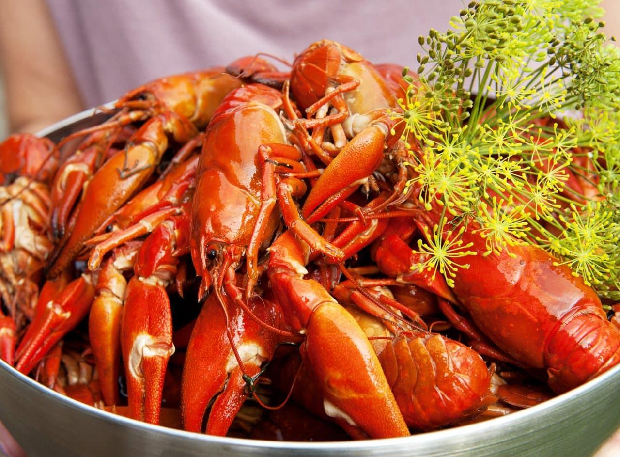 خوراک خرچنگ